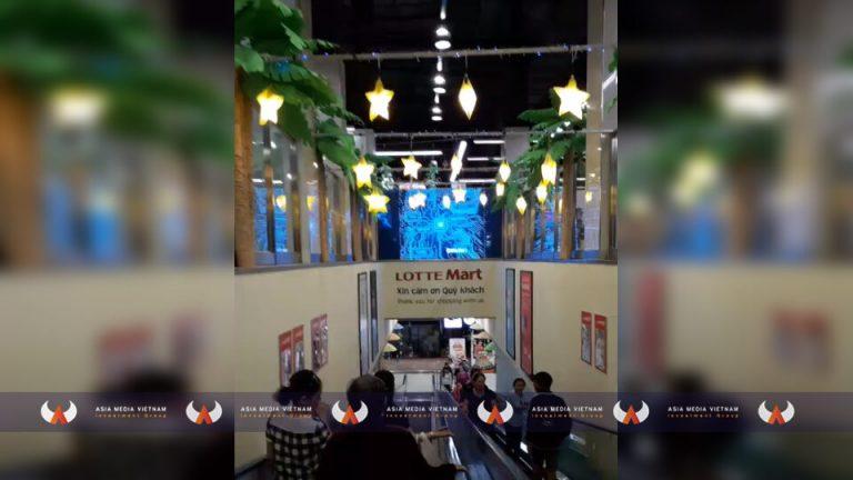Lotte Mart Cần Thơ – Thang cuốn thông tầng 1 & 2