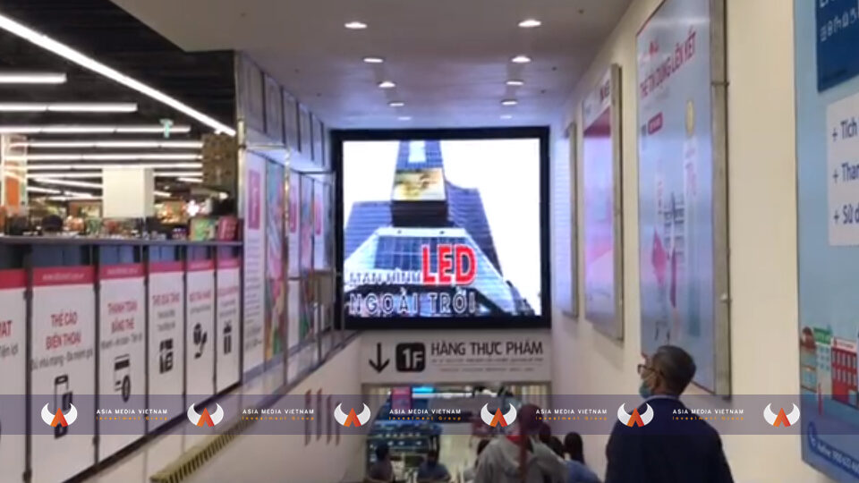 Lotte Mart Quận 7 – Thang cuốn thông tầng 1 & 2