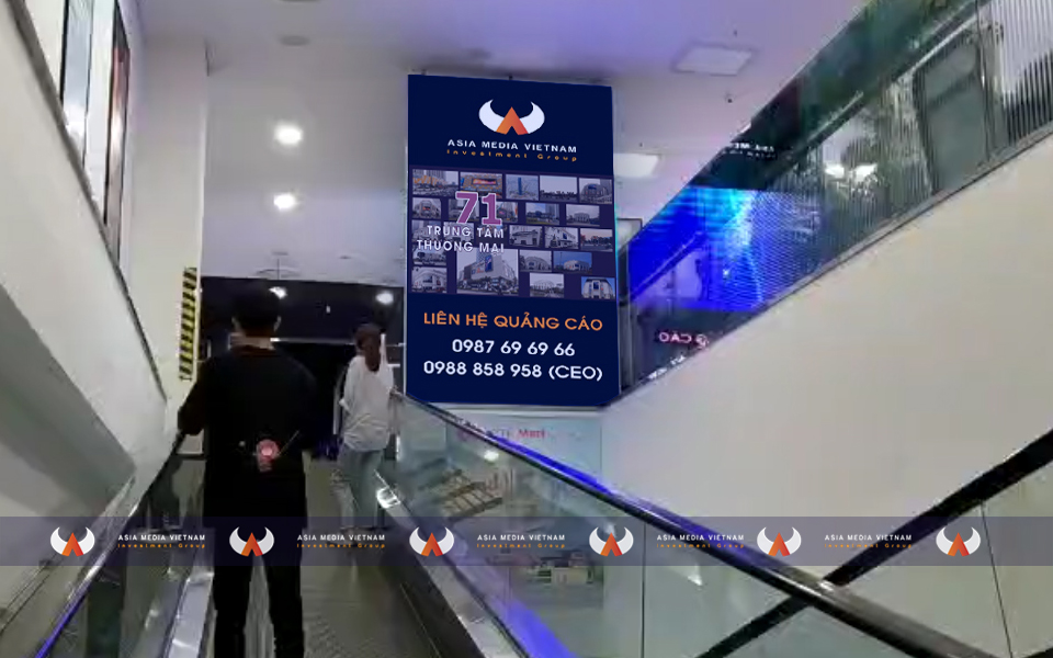 Lotte Mart Đà Nẵng – Thang cuốn thông tầng 1 & 2