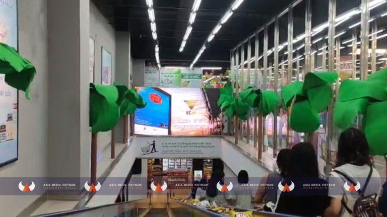 Lotte Mart Nha Trang – Thang cuốn thông tầng 1 & 2