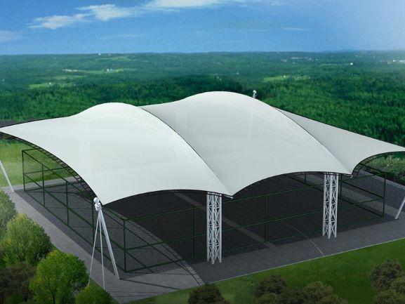 Cấu trúc màng PVC cho bóng râm đỗ xe