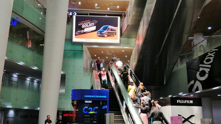 LED Indoor tại Bitexco (Sảnh Chính)