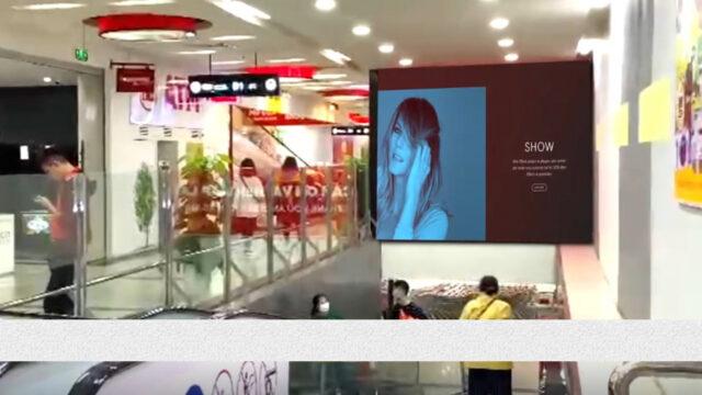 Led Indoor Tại BigC Lê Trọng Tấn, Hà Nội (Thang Cuốn B1& B2)