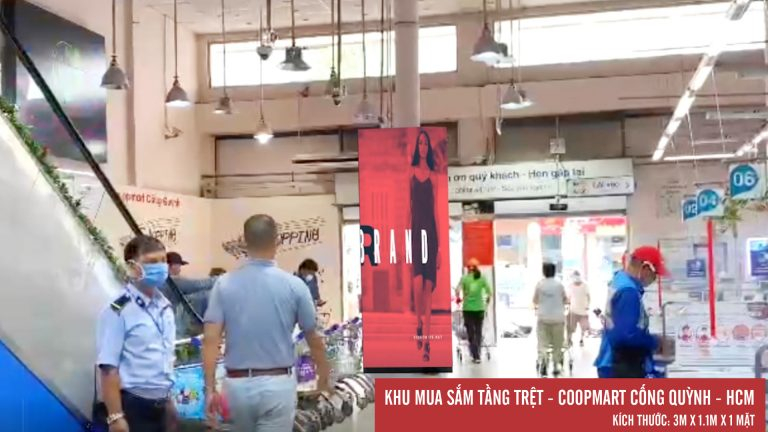 Led Indoor Tại Coopmart Cống Quỳnh – Quận 1 – Tp. Hồ Chí Minh