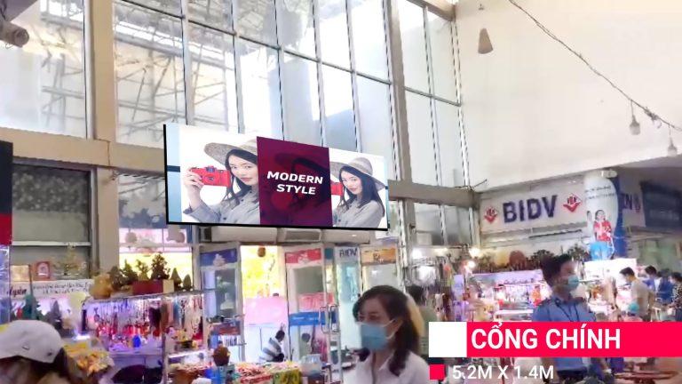 Led Indoor Tại Coopmart Quy Nhơn – Bình Định (Cổng Chính)