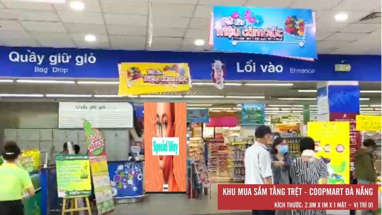 Led Indoor Tại Tầng Trệt Coopmart Đà Nẵng ( Vị Trí 1)
