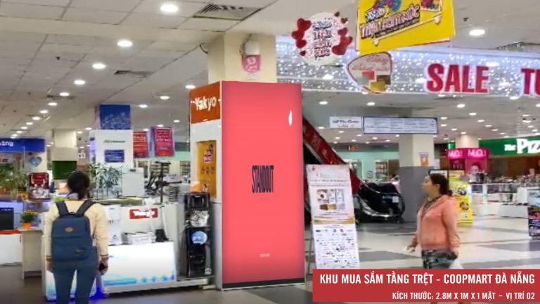 Led Indoor Tại Tầng Trệt Coopmart Đà Nẵng ( Vị Trí 2)