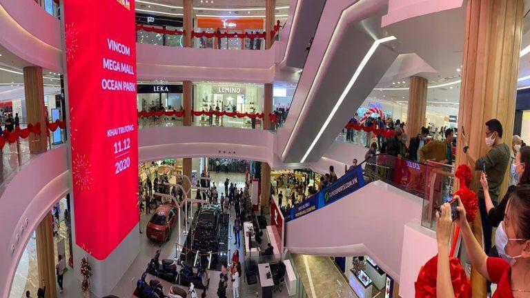 Led Indoor Tại Vincom Mega Mall Ocean Park – Hà Nội