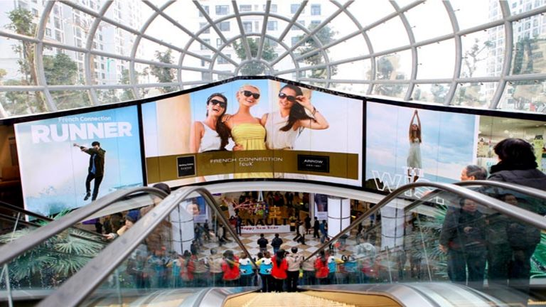 Led Indoor Tại Vincom Mega Mall Times City – Hà Nội