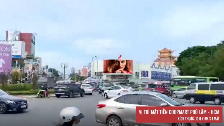 Led Outdoor Tại Mặt Tiền Coopmart Phú Lâm – Quận 6 – Tp. Hồ Chí Minh - Copy