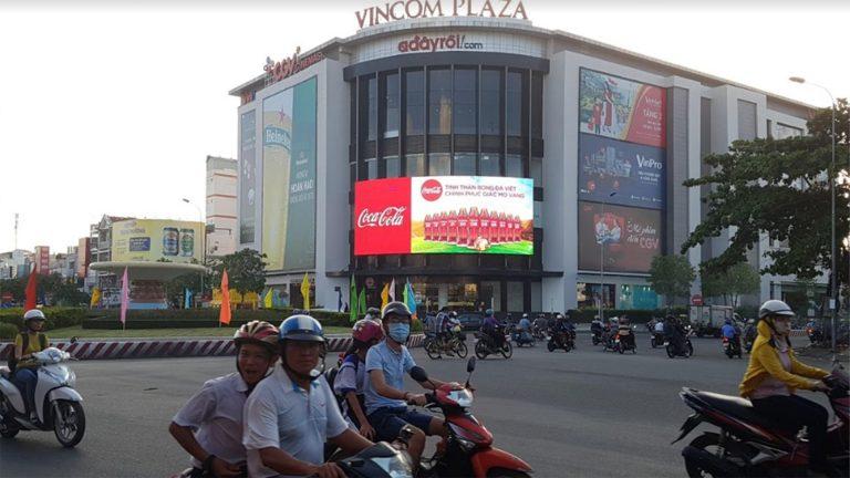 Led Outdoor Tại Vincom Hùng Vương, Tp. Ninh Kiều – Cần Thơ - Copy
