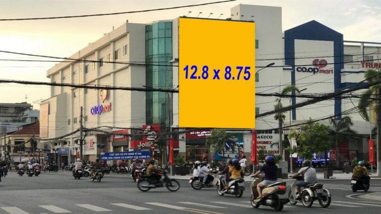 Pano Ốp Tường Tại Coopmart Long Xuyên (Giao Lộ Hùng Vương – Nguyễn Huệ – Long Xuyên) – An Giang