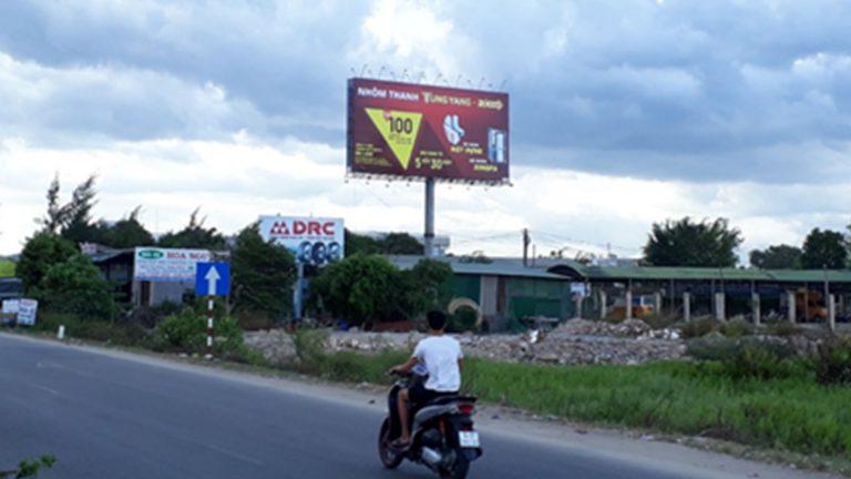 Billboard 2 Mặt Tại Bến Xe Chín Nghĩa – Phường Nghĩa Chánh – Tp. Quảng Ngãi
