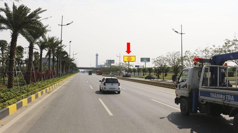 Billboard 2 Mặt Tại HK03 Đối Diện Nhà Ga T1 – Sân Bay Nội Bài – Huyện Sóc Sơn – Hà Nội