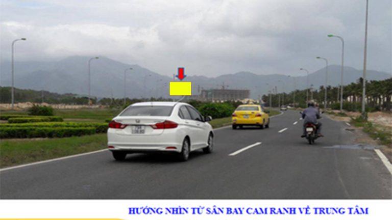Billboard 2 Mặt Tại Km23+700 – Hướng Về Sân Bay Cam Ranh – Tp. Cam Ranh – Tỉnh Khánh Hòa (Cánh Buồm)