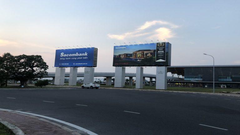 Billboard 2 Mặt Tại Sân Bay Cam Ranh – Tp. Cam Ranh – Tỉnh Khánh Hòa