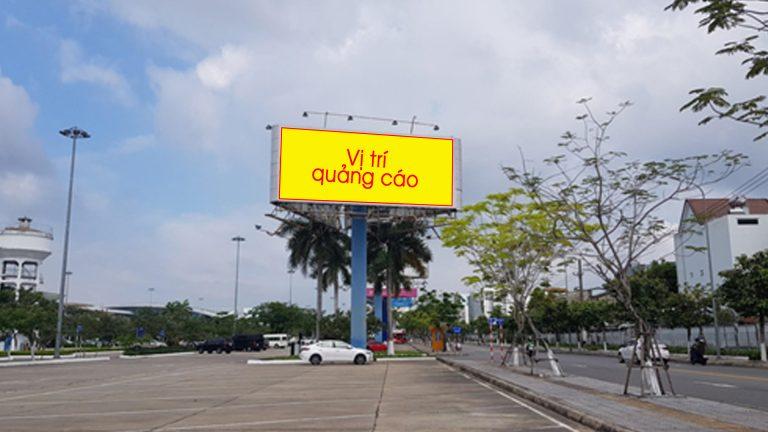 Billboard 3 Mặt Tại Bãi Đỗ Xe Sân Bay Đà Nẵng – Quận Hải Châu – Tp. Đà Nẵng