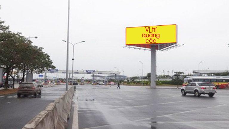 Billboard 3 Mặt Tại CP23 – Ga Quốc Nội (T1) – Sân Bay Nội Bài – Huyện Sóc Sơn – Hà Nội (Bãi Đỗ Xe Ô Tô)