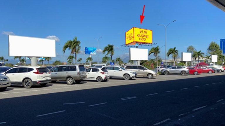 Billboard 3 Mặt Tại Khu Vực Bãi Đỗ Xe Ô Tô Đối Diện Nhà Ga – Sân Bay Cam Ranh – Tp. Cam Ranh – Tỉnh Khánh Hòa
