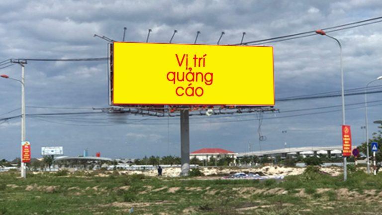 Billboard 3 Mặt Tại Khu Vực Giao Lộ Nguyễn Tất Thành & Cửa Ngõ Nhà Ga Sân Bay Cam Ranh – Tp. Cam Ranh – Tỉnh Khánh Hòa