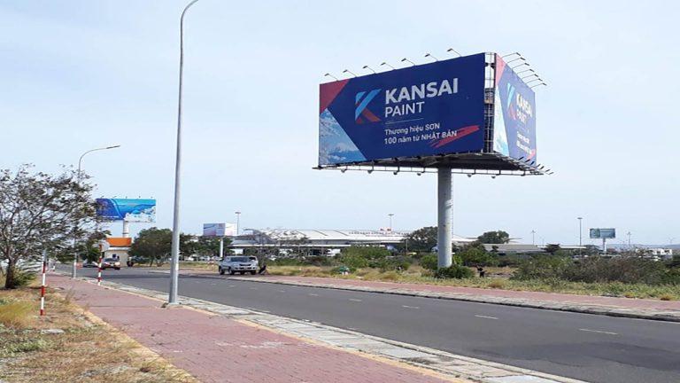 Billboard 3 Mặt Tại Lối Ra Sân Bay Cam Ranh – Tp. Cam Ranh – Tỉnh Khánh Hòa (Vị Trí 1)