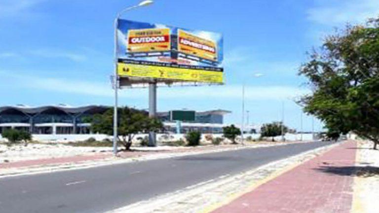 Billboard 3 Mặt Tại Lối Ra Sân Bay Cam Ranh – Tp. Cam Ranh – Tỉnh Khánh Hòa (Vị Trí 2)