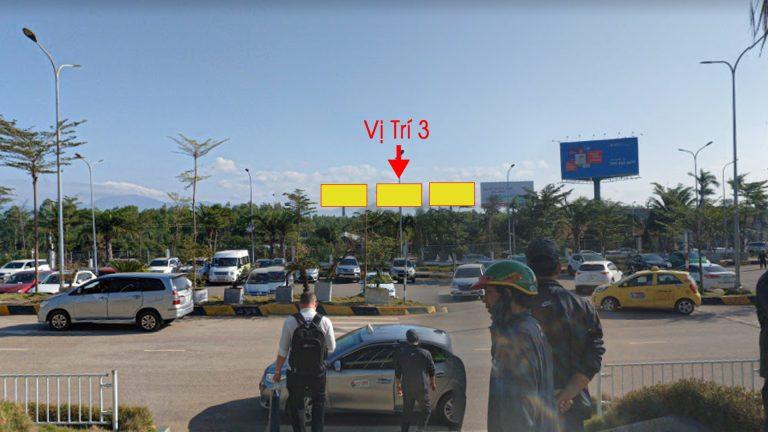 Billboard Tại Sân Bay Phù Cát Lối Vào Ra Cổng Chính (Vị Trí 3) – Tỉnh Bình Định