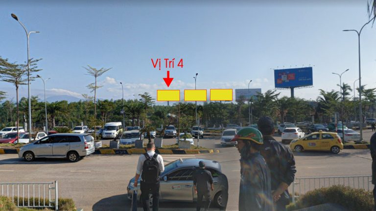 Billboard Tại Sân Bay Phù Cát Lối Vào Ra Cổng Chính (Vị Trí 4) – Tỉnh Bình Định