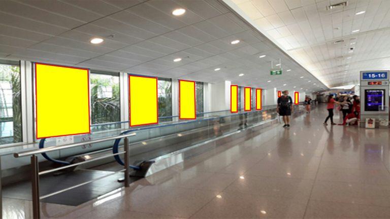Decal Dán Kính Tại Nhà Chờ Tầng 2 Sân Bay Quốc Tế Tân Sơn Nhất Gate 1-17 TSN-19, Quận Tân Bình – Tp. Hồ Chí Minh
