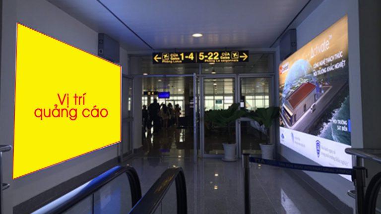 Hộp Đèn Tại (DDB1.106) Lối Vào An Ninh Dành Cho Hành Khách Thương Gia, Vip Vietnam Airlines – Sân Bay Tân Sơn Nhất – Quận Tân Bình – Tp. Hồ Chí Minh
