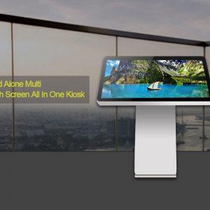 Kiosk thông tin màn hình cảm ứng thời trang MWE831