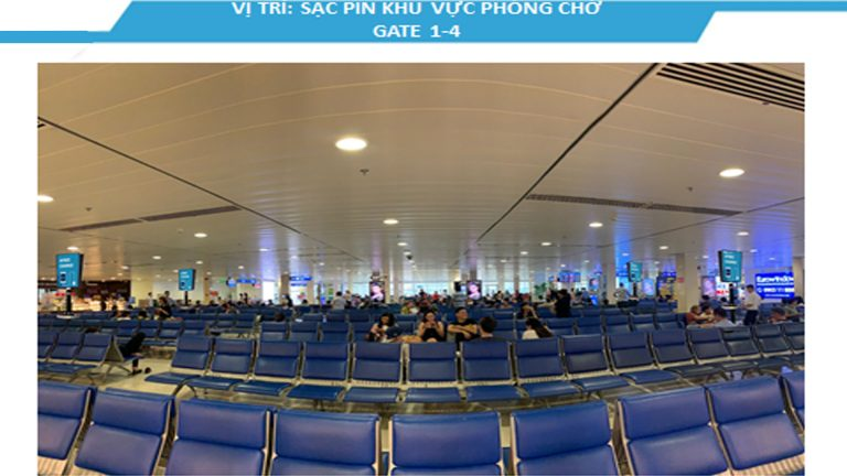 Led Indoor Tại 43″ Sạc Pin Khu Vực Phòng Chờ Gate 1-4 , Gate 5-9 , Gate 10 , Gate 11 , Gate 12 , Gate 14 – Sân Bay Tân Sơn Nhất – Quận Tân Bình – Tp. Hồ Chí Minh (36 Vị Trí)