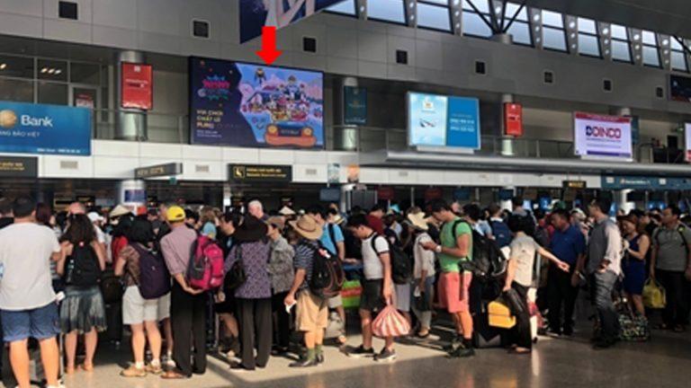Led Indoor Tại Cửa An Ninh Soi Chiếu Ga Đi Quốc Nội – Sân Bay Đà Nẵng – Quận Hải Châu – Tp. Đà Nẵng