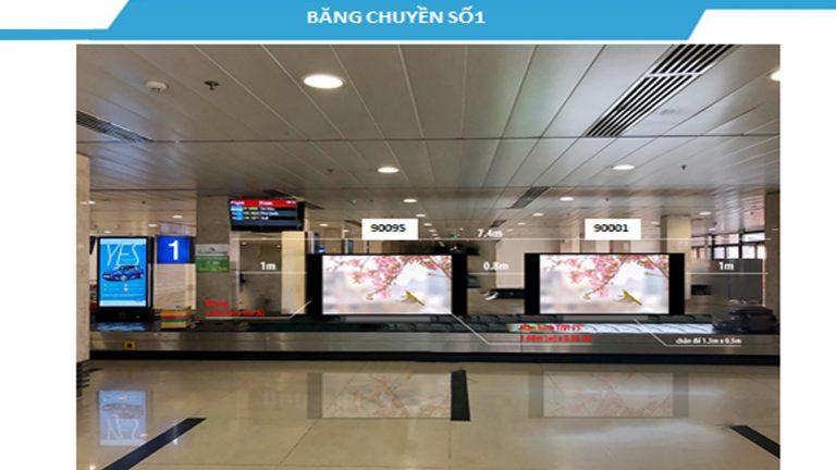 Led Indoor Tại LCD 75″ Đặt Trên Băng Chuyền Hành Lý Số 1,3,6 Cách Ly Ga Đến Quốc Nội – Sân Bay Tân Sơn Nhất – Quận Tân Bình – Tp. Hồ Chí Minh (7 Vị Trí)