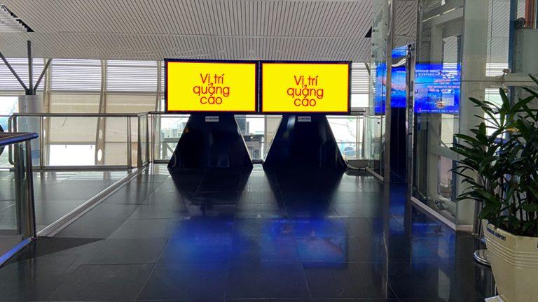 Led Indoor Tại LCD 75'' Đối Diện Phòng Chờ Thương Gia – Sân Bay Đà Nẵng – Quận Hải Châu – Tp. Đà Nẵng (2 Vị Trí)