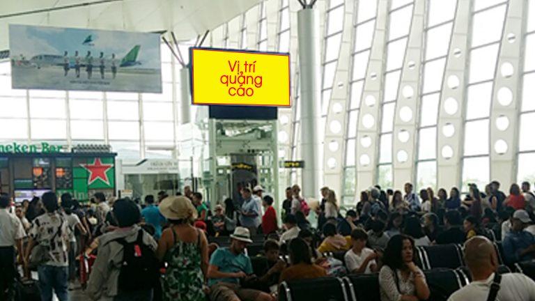 Led Indoor Tại Phòng Chờ Ga Đi Quốc Nội – Sân Bay Đà Nẵng – Quận Hải Châu – Tp. Đà Nẵng