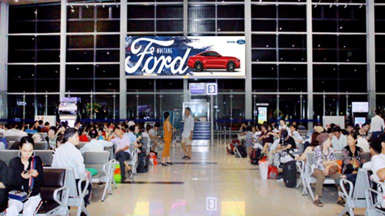 Led Indoor Tại Sân Bay Cát Bi – Quận Hải An – Tp. Hải Phòng (Phòng Chờ Quốc Nội – IP1812)