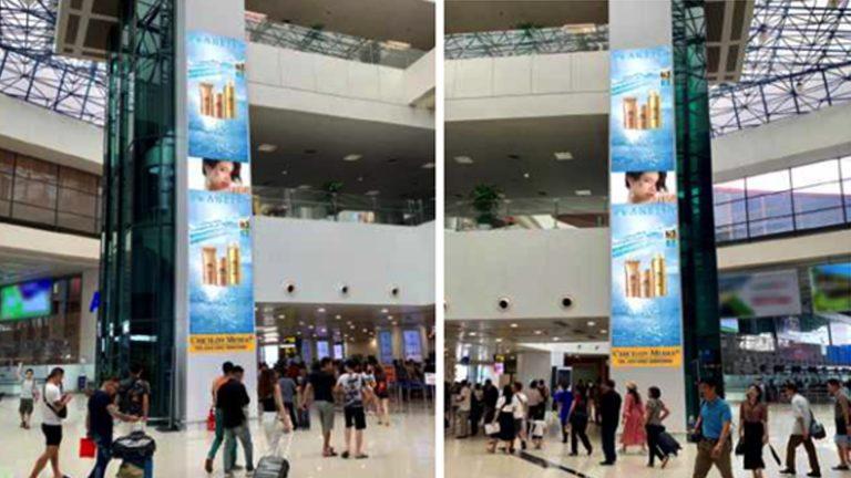 Led Indoor Tại Sân Bay Nội Bài – Huyện Sóc Sơn – Hà Nội (Sảnh VietNam Airline – IP1818+1819)