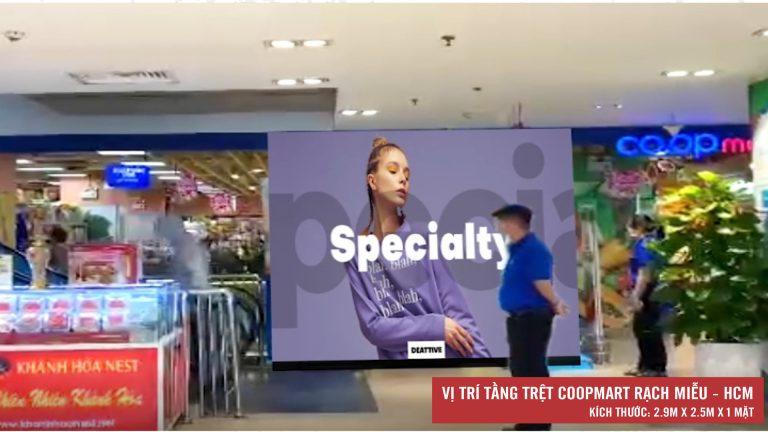 Led Indoor Tại Tầng Trệt Coopmart Rạch Miễu – Quận Phú Nhuận – Tp. Hồ Chí Minh