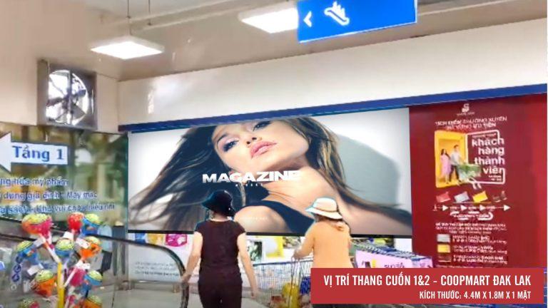 Led Indoor Tại Thang Cuốn 1&2 Coopmart Buôn Ma Thuột – Tỉnh Đắk Lắk