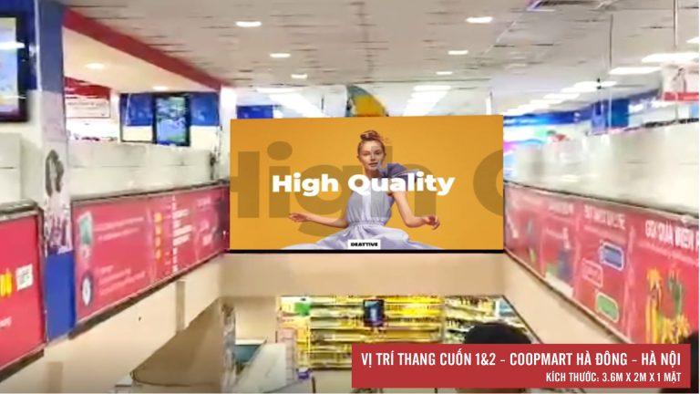 Led Indoor Tại Thang Cuốn 1&2 Coopmart Hà Đông – Hà Nội