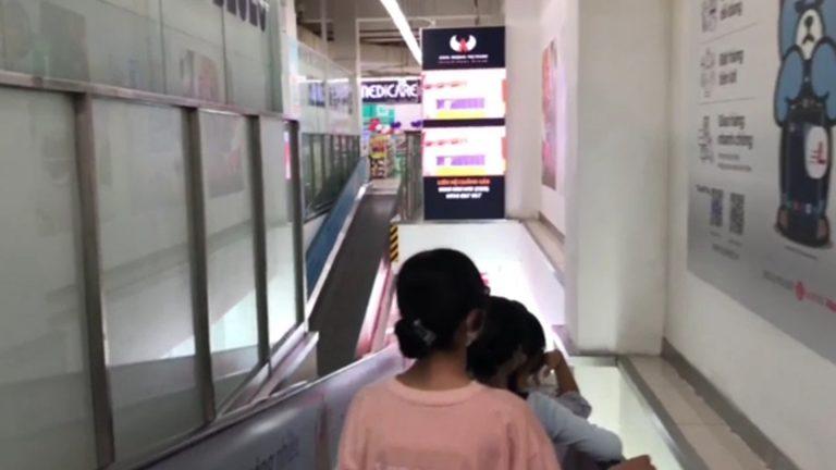 Lotte Mart Đồng Nai – Thang Cuốn Thông Tầng 1 & 2