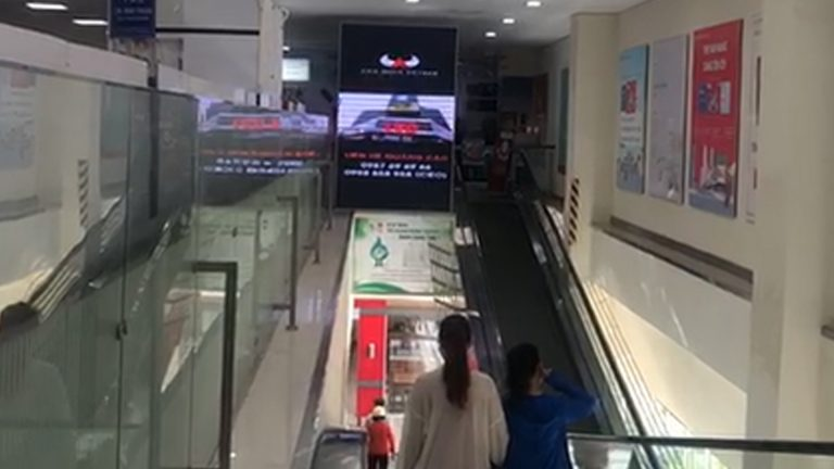 Lotte Mart Phan Thiết – Thang Cuốn Thông Tầng 1 & 2