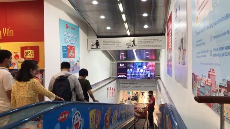 Lotte Mart Phú Thọ – Thang Cuốn Thông Tầng 1 & 2