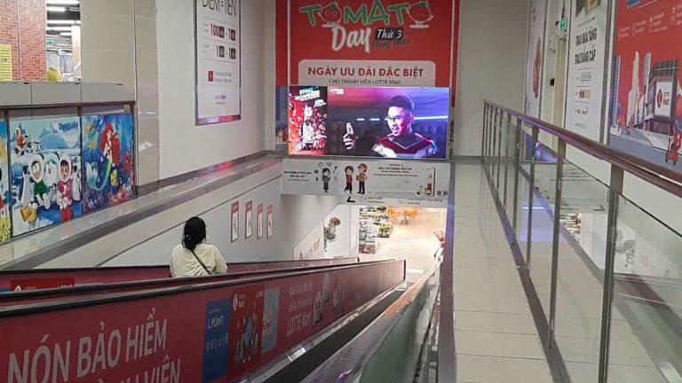 Lotte Mart Phú Thọ – Thang Cuốn Thông Tầng 2 & 3
