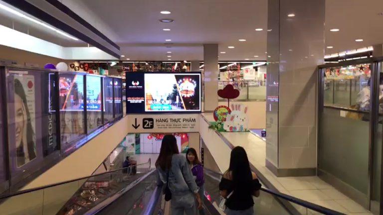 Lotte Mart Vũng Tàu – Thang Cuốn Thông Tầng 2 & 3 (2 Mặt)