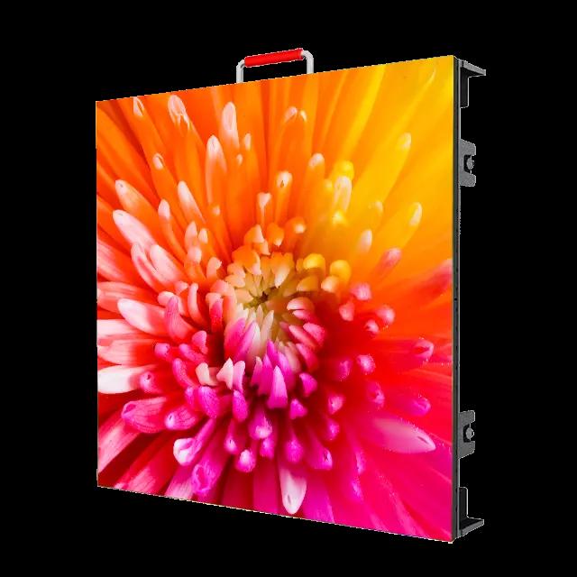 P2.604mm Tường màn hình LED cho thuê HD trong nhà 500x500mm cho các sự kiện