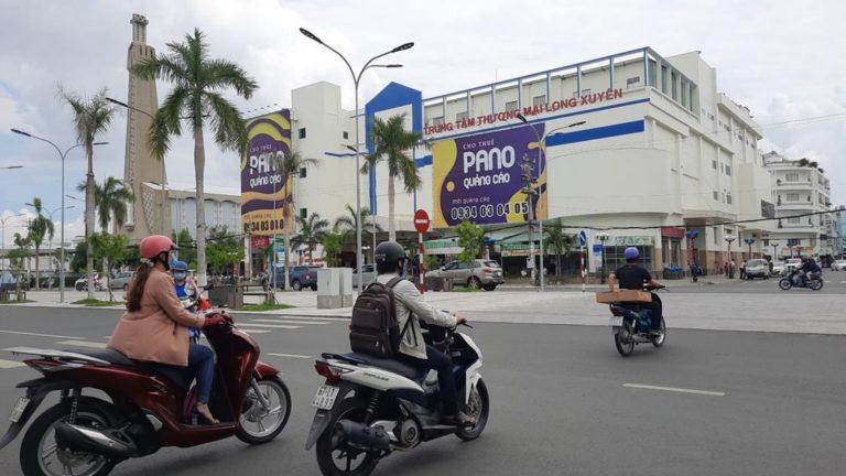 Pano Ốp Tường Tại 12 Nguyễn Huệ – Phường Mỹ Long – Tp. Long Xuyên – Tỉnh An Giang (Mặt Tiền TTTM