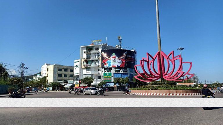 Pano Ốp Tường Tại Ngã 6 Ngô Mây – Tp. Quy Nhơn – Tỉnh Bình Định