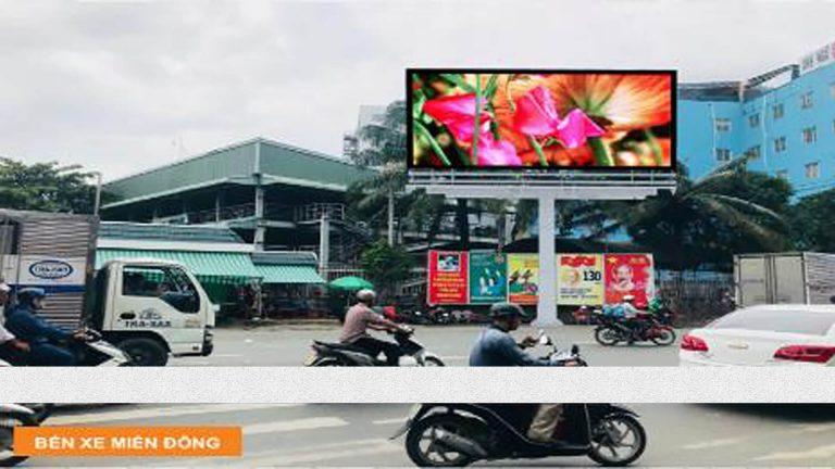 Pano Trivision Tại Cổng Số 03 – Bến Xe Miền Đông – Đường Đinh Bộ Lĩnh – Quận Bình Thạnh – Tp. Hồ Chí Minh